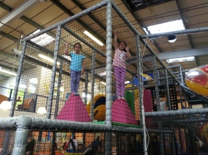 Caged sausages